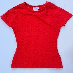 Gianni Versace XS 90s Red T-shirt